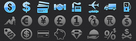 Business iPhone Icons